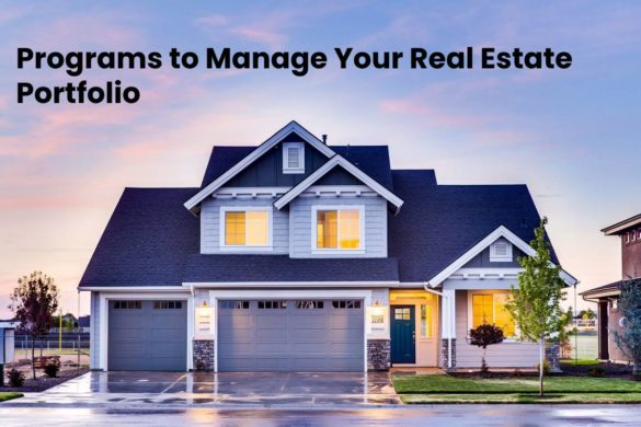 Programs to Manage Your Real Estate Portfolio