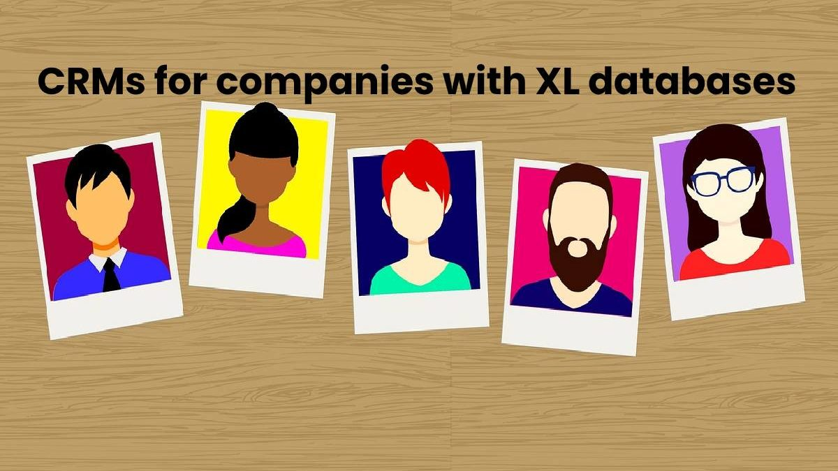 CRMs for companies with XL databases