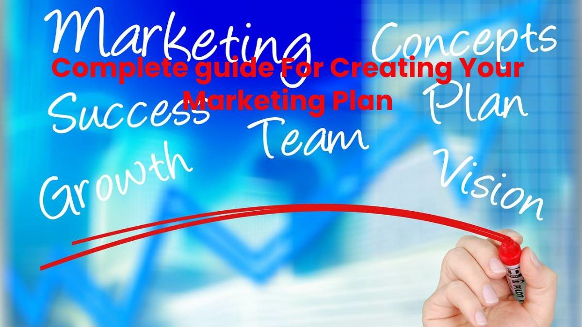 Complete guide For Creating Your Marketing Plan