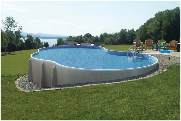 All You Need to Know About a Semi-Inground Pool