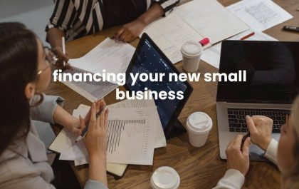 financing your new small business