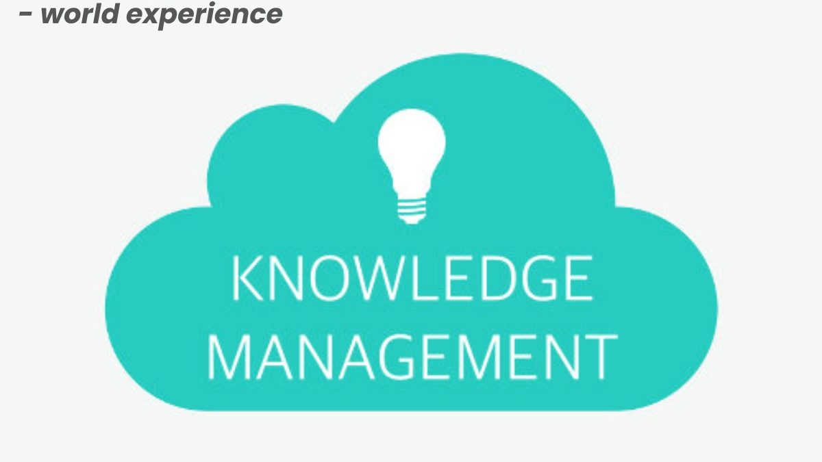 Knowledge management systems (knowledge bases) – world experience